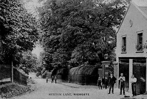 Merton Lodge Coach House, Highgate