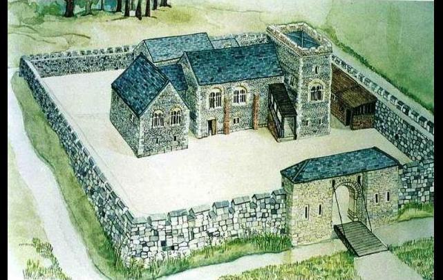 Bishops Lodge at Highgate - impression by Amanda Attenburrow