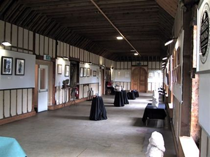 The gallery at Lauderdale House where the sacrifial remains were discovered.