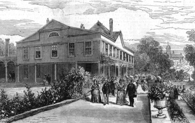 Lauderdale House in 1872
