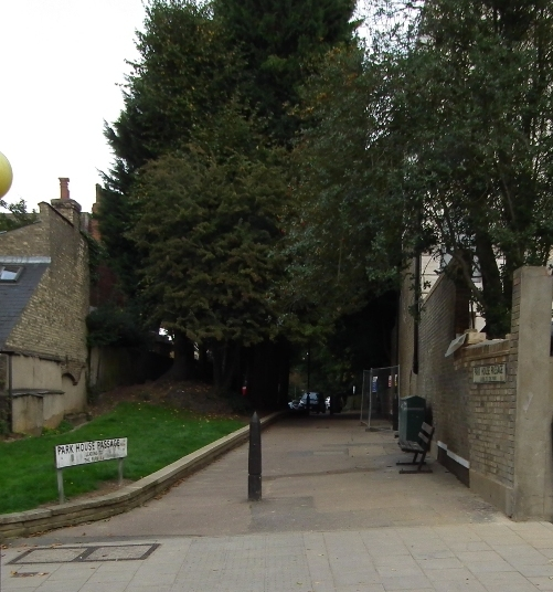 Park House Passage in September 2013 (c) Dave Milner
