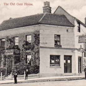 The Gatehouse, Highgate, prior to Victorian remodelling