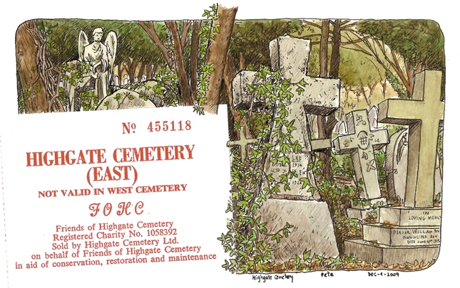 Highgate Cemetery East - (c) Pete Scully