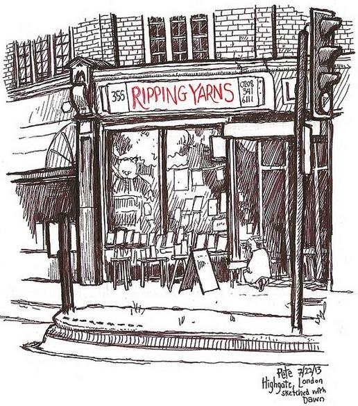 Ripping Yarns Bookshop Highgate - (c) Pete Scully