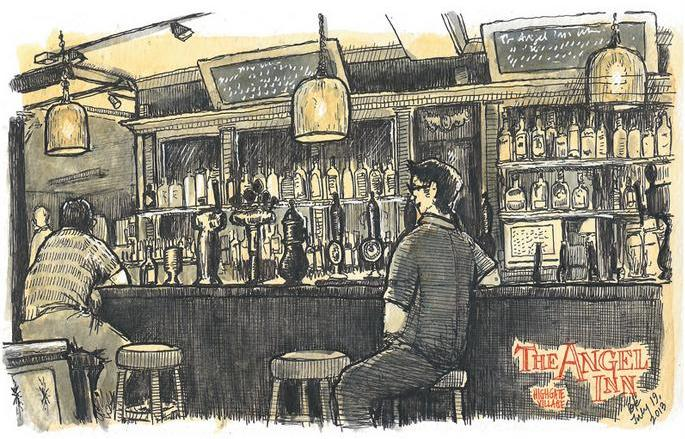 The Angel Inn Highgate Interior - (c) Pete Scully
