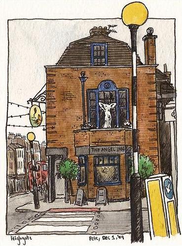 The Angel Inn Highgate - (c) Pete Scully