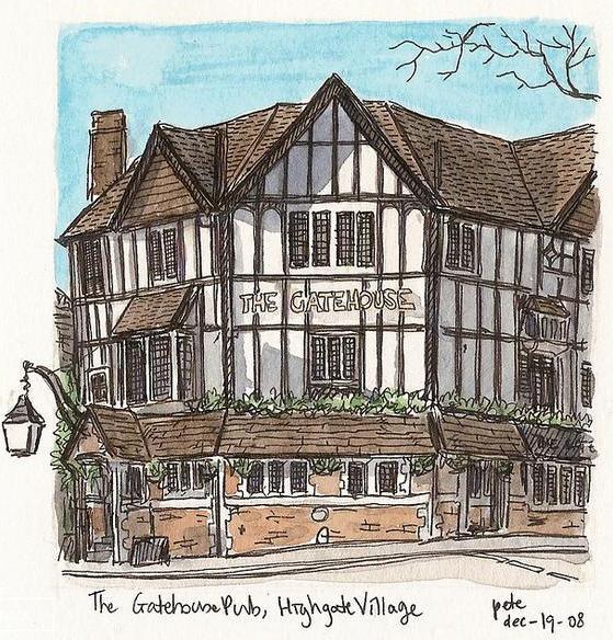 The Gatehouse Pub - (c) Pete Scully