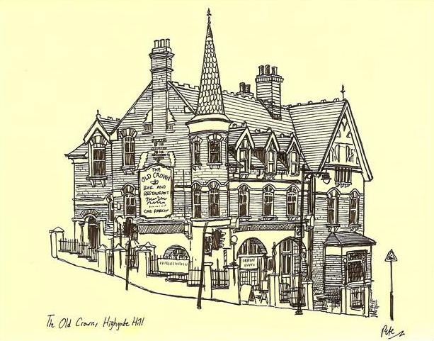 The Old Crown Highgate Hill - (c) Pete Scully