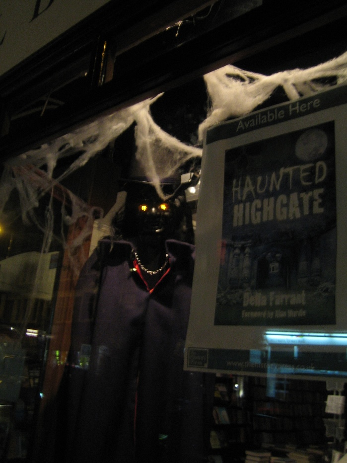Haunted Highgate by Della Farrant Muswell Hill Bookshop Hallowe'en 2014 Part 4