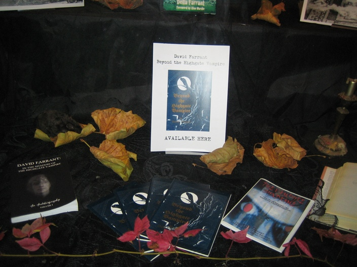 Haunted Highgate by Della Farrant at Muswell Hill Bookshop Halloween 2014