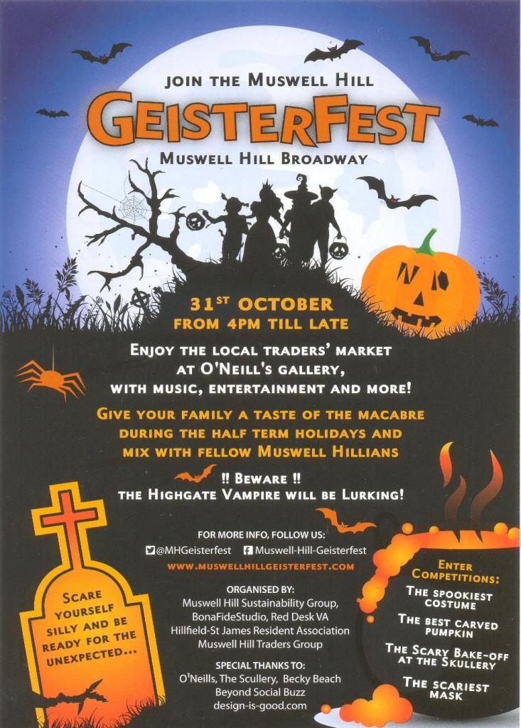 Muswell Hill Geisterfest