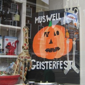 The Skullery Muswell Hill Halloween display 2014 1