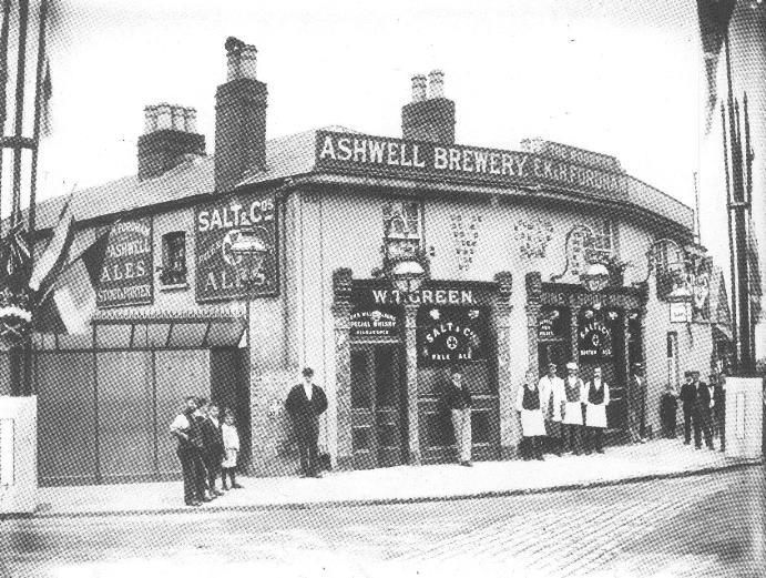 The Woodman, Highgate, in 1897
