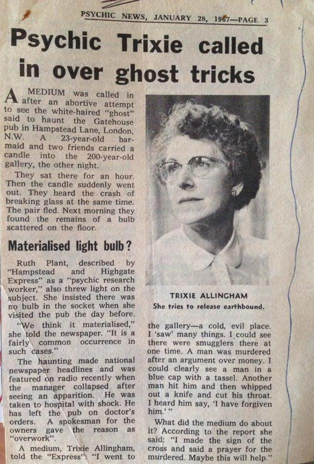 Psychic News Jan 28 1967