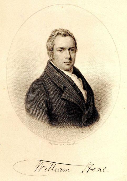 Mr Wiiliam Hone, pioneering socialist and folklore revolutionary.
