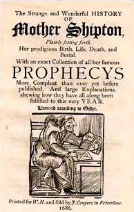 Old Mother Shipton Prophecys