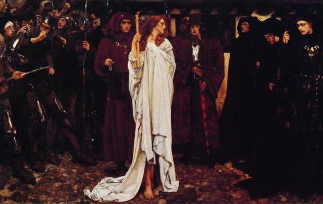 'The Penance of Eleanor' by Edwin Austin Abbey